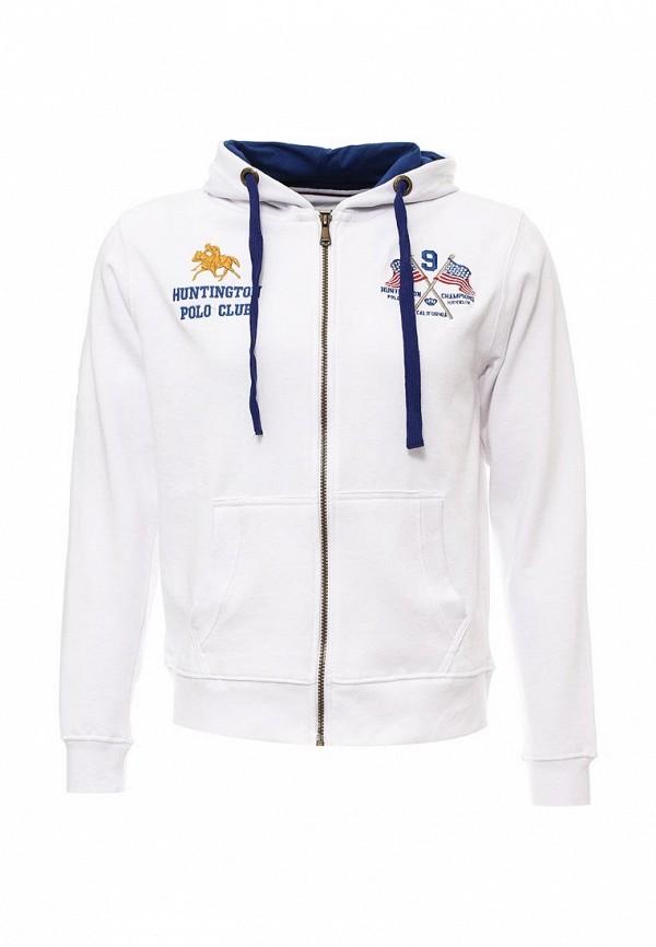 Толстовка Huntington Polo Club BROOKHURST_805002_BRIGHTWHITE