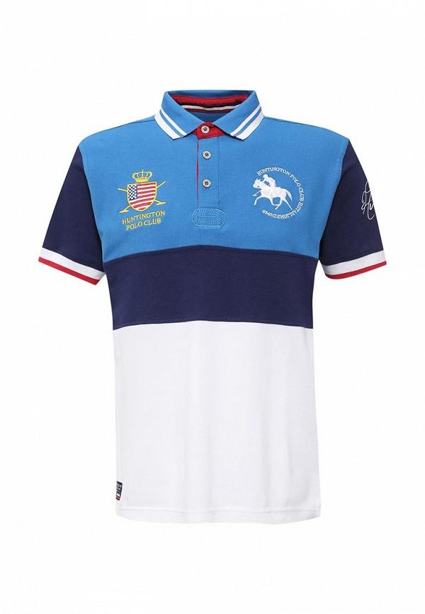 Поло Huntington Polo Club EDWARD_505002_DIRECTOIREBLUE