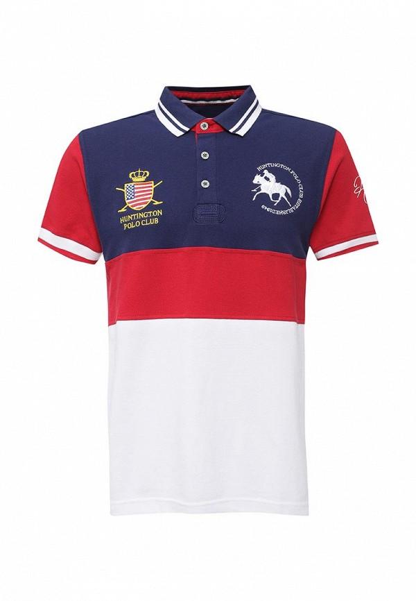 Мужские поло Huntington Polo Club EDWARD_505002_PATRIOTBLUE