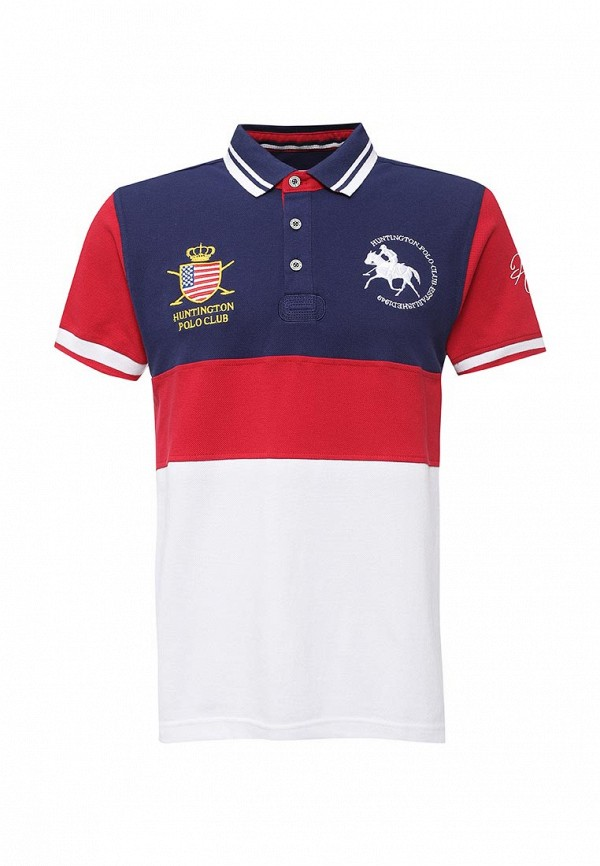 Поло Huntington Polo Club EDWARD_505002_PATRIOTBLUE