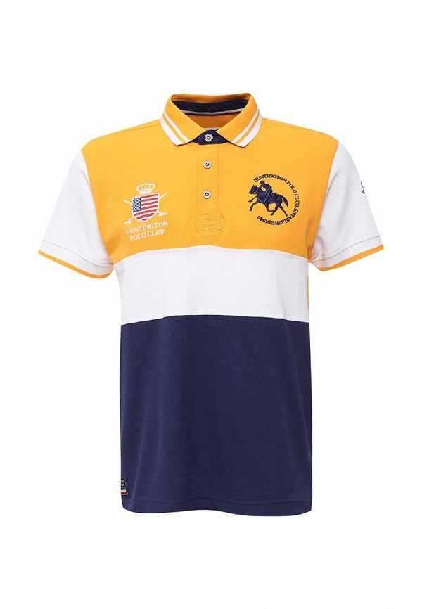 Поло Huntington Polo Club Huntington Polo Club HU010EMJOG36 толстовка huntington polo club huntington polo club hu010emjog30