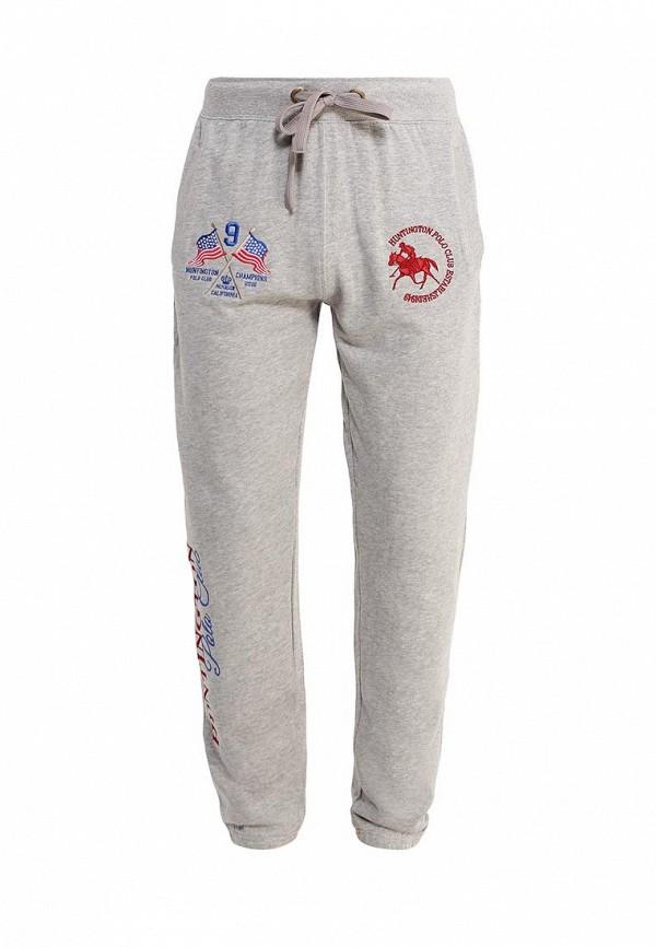 Мужские спортивные брюки Huntington Polo Club TRUXTON_705006_GRAYMELANGE