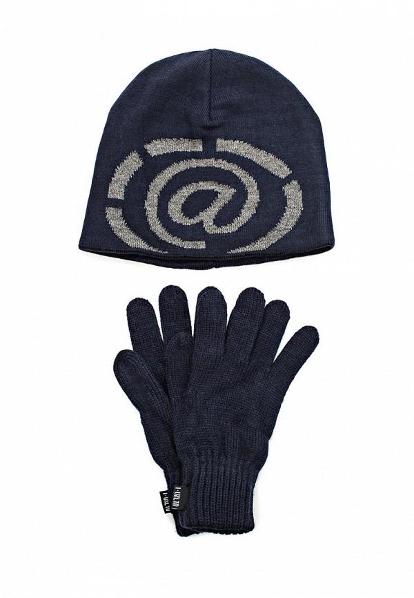 Комплект шапка и перчатки IANA