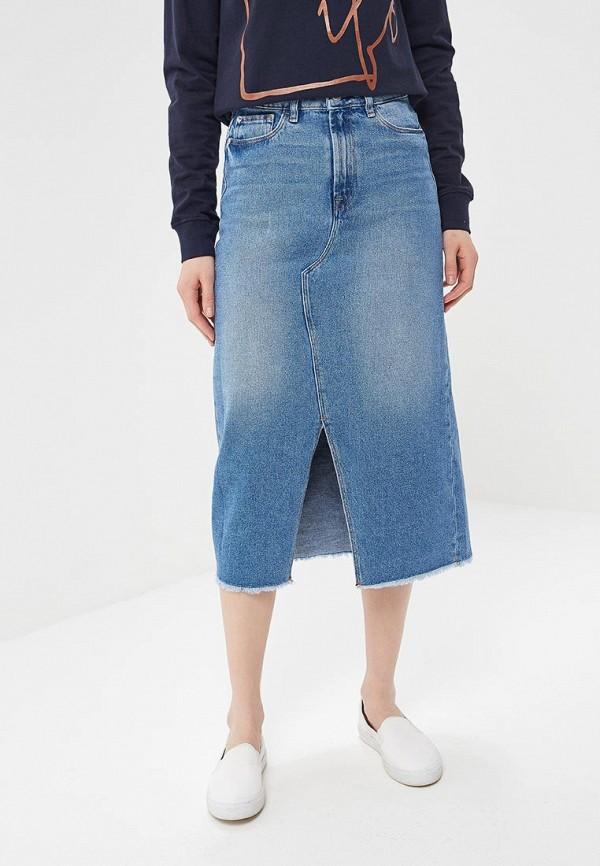 Юбка джинсовая Ichi Ichi IC314EWZQT63 юбки ichi юбка