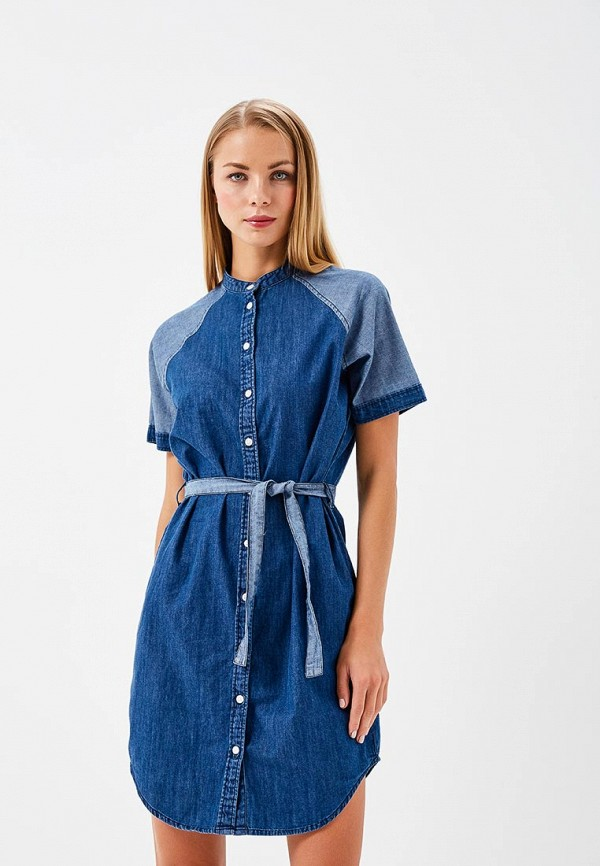 Платье джинсовое Ichi Ichi IC314EWZQT72 юбки ichi юбка