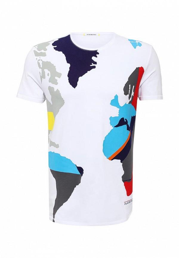 Футболка с коротким рукавом Iceberg (Айсберг) F2356314