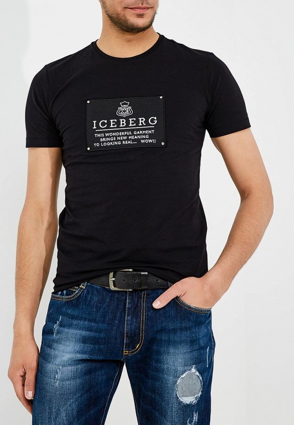 Фото Футболка Iceberg. Купить с доставкой