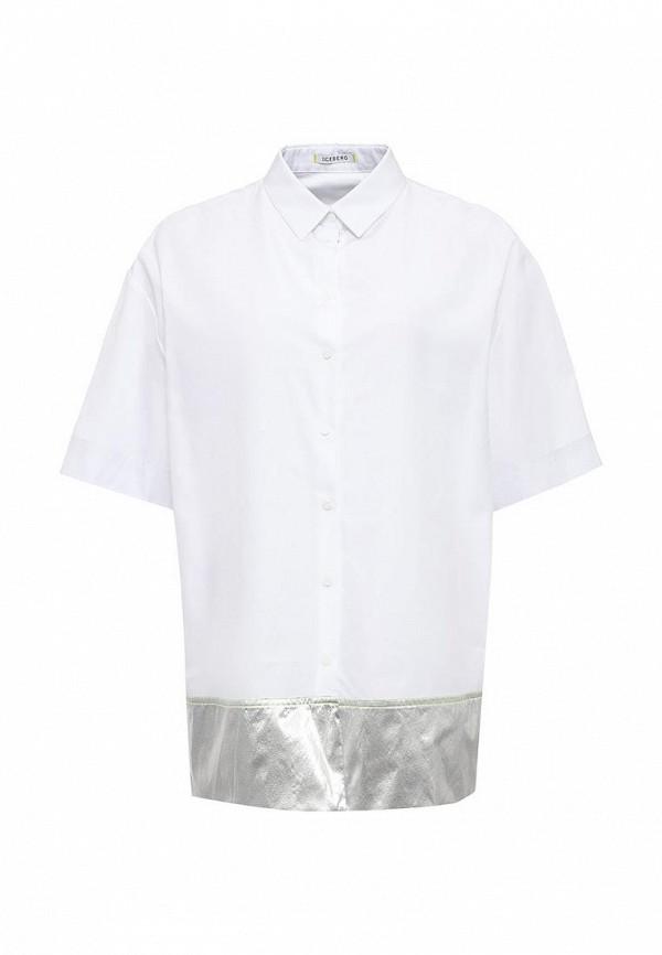 цена Рубашка Iceberg Iceberg IC461EWOYW96 онлайн в 2017 году