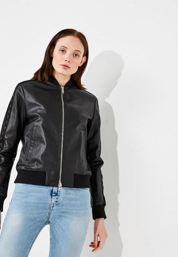 Фото Куртка кожаная Iceberg. Купить с доставкой