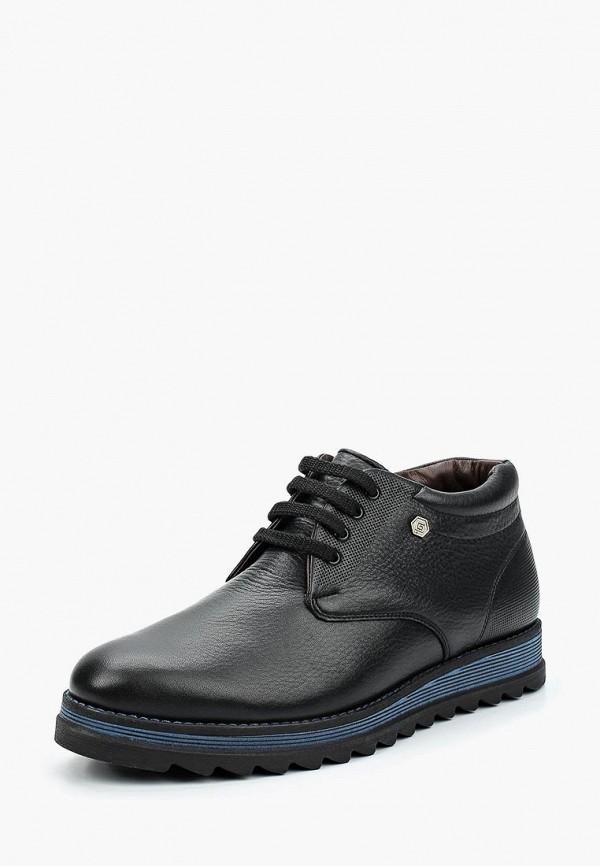 Фото - мужские ботинки и полуботинки iD active черного цвета