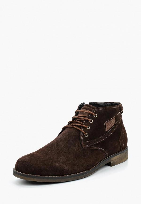 Фото - мужские ботинки и полуботинки iD active коричневого цвета