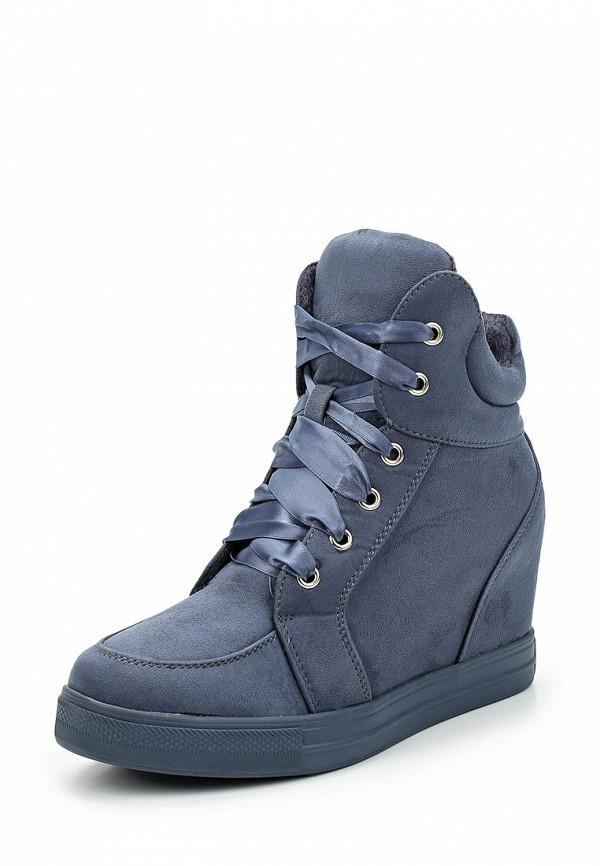 Кеды на танкетке Ideal Shoes Ideal Shoes ID007AWYRA26 кеды ideal shoes ideal shoes id005awsbf41