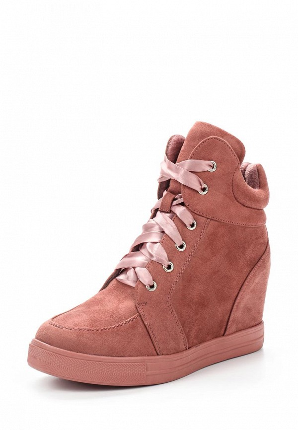 Кеды на танкетке Ideal Shoes Ideal Shoes ID007AWYRA27 босоножки ideal shoes ideal shoes id005awtjm21