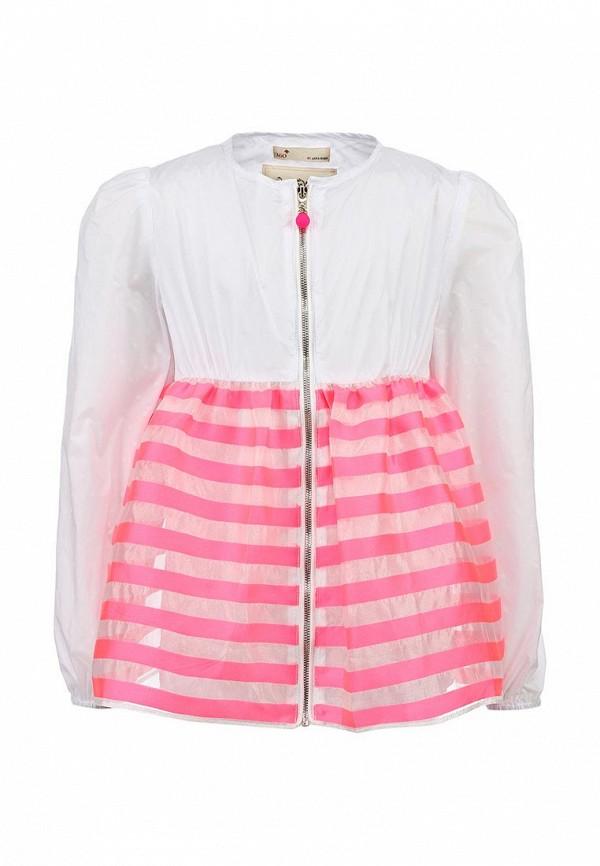 Куртка Il MIO tutto. Цвет: белый, розовый