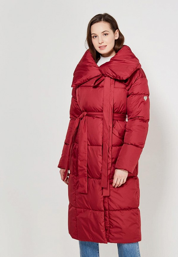 Купить Куртка утепленная Imocean, IM007EWAIBR2, бордовый, Весна-лето 2018