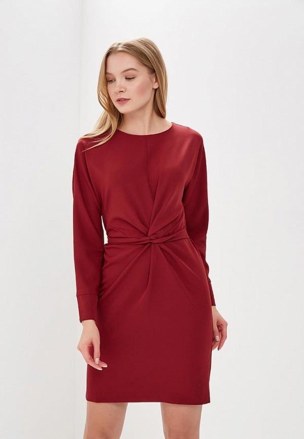 Купить Платье Imocean, IM007EWBELO7, бордовый, Весна-лето 2018