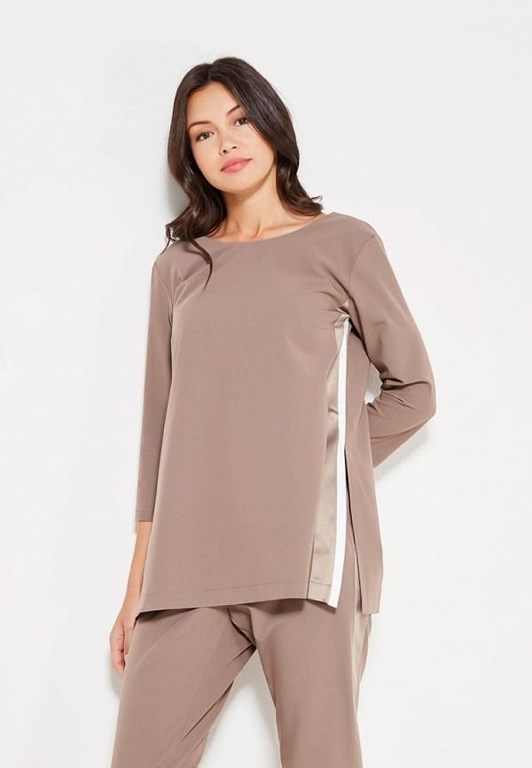 Фото - женскую блузку Imocean бежевого цвета