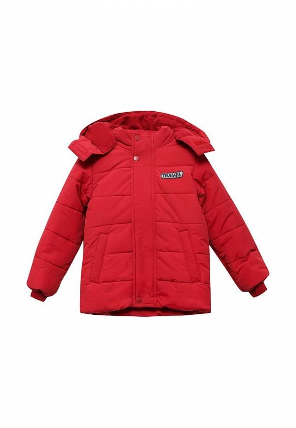 Куртка утепленная Incity. Цвет: красный