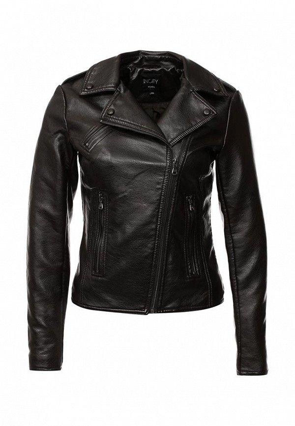 Кожаная куртка Incity (Инсити) 1.1.2.16.03.12.00070/191101