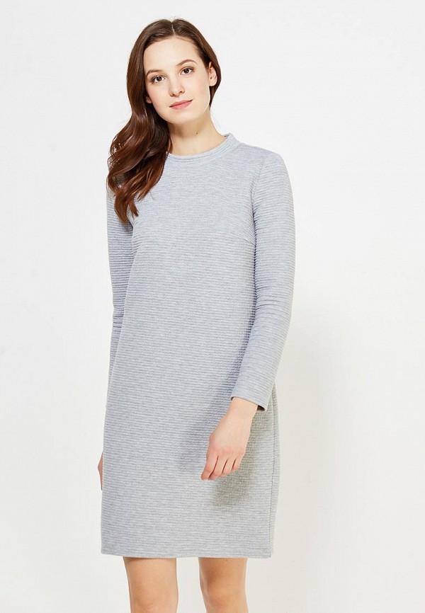 Серое платье 2017