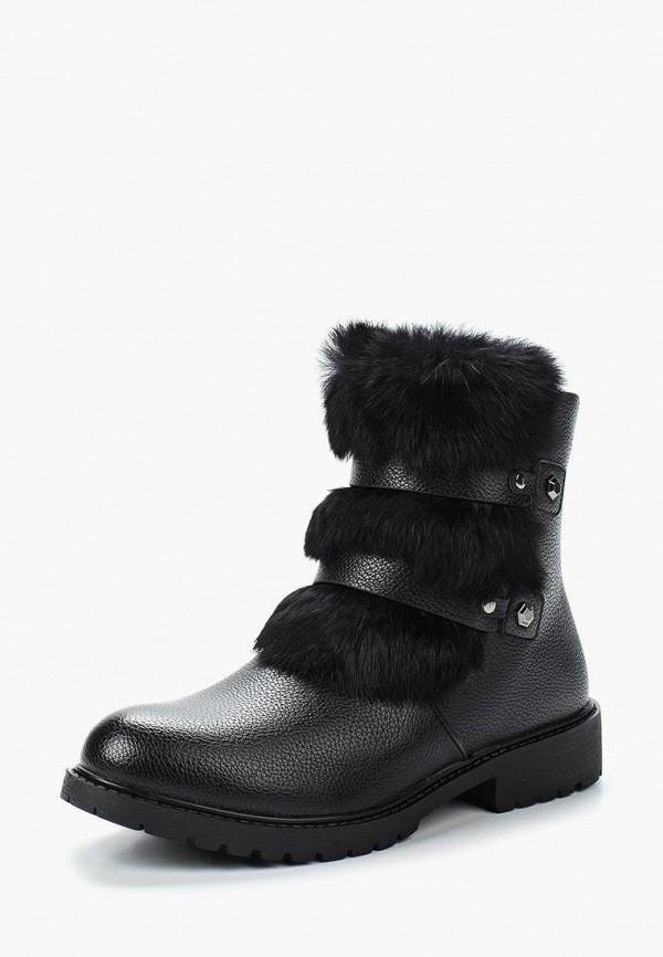 Фото - женские ботинки и полуботинки Instreet черного цвета
