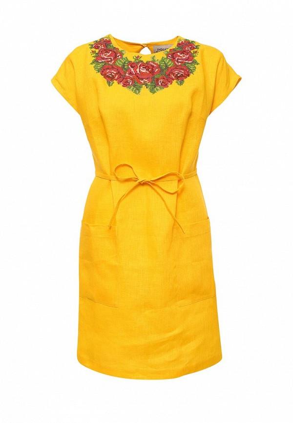Платье-миди Indiano Natural 1968