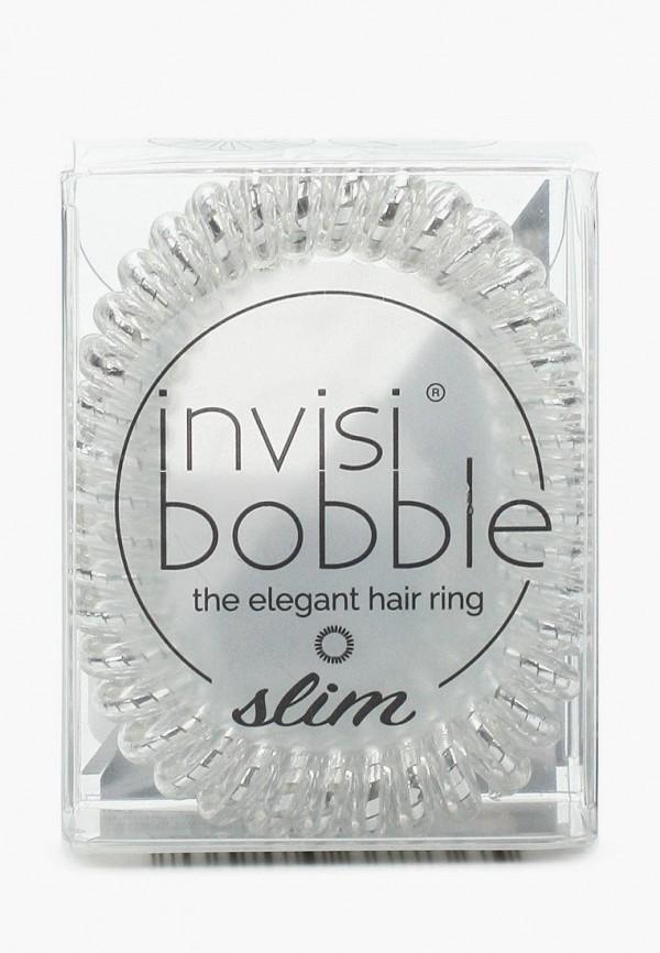 Купить Комплект invisibobble, для волос invisibobble SLIM Chrome Sweet Chrome, IN020DWBC732, серебряный, Весна-лето 2018