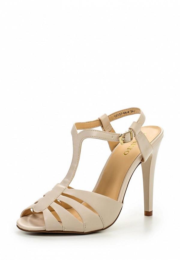 Босоножки на каблуке Inario (Инарио) 10137-04-4