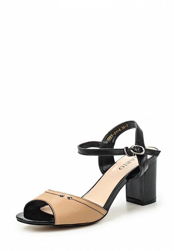 Босоножки на каблуке Inario (Инарио) 1163-01-4
