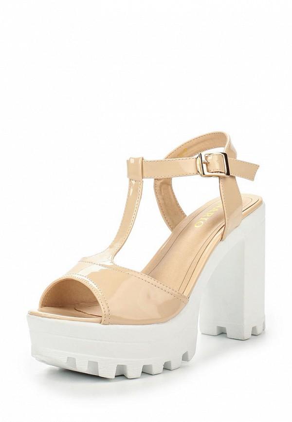 Босоножки на каблуке Inario (Инарио) 1062-02-3