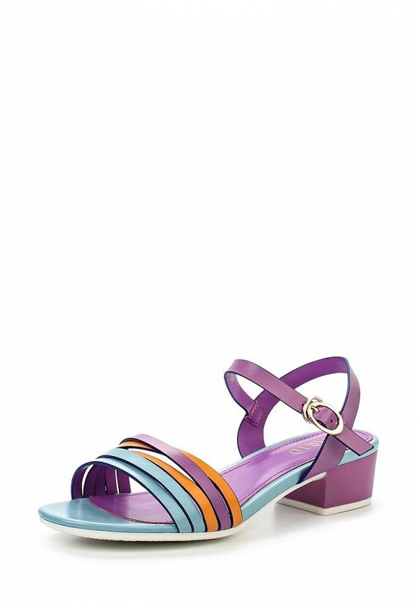 Босоножки на каблуке Inario (Инарио) 1146-01-9