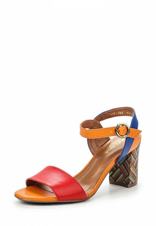 Босоножки на каблуке INDIANA 7126-082-445F