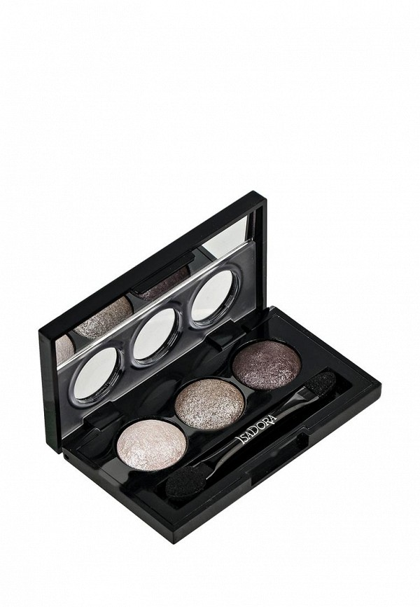 Тени Isadora для век  Eye Shadow Trio 80, 1,8 г isadora для век eye shadow quartet 44 5 г
