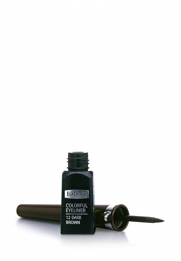 Подводка Isadora для век Colorful Eyeliner 12, 3,7 мл