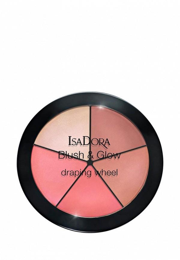 Палетка для лица Isadora Isadora IS007LWXYO71 тушь для ресниц isadora isadora is006lwmsv31