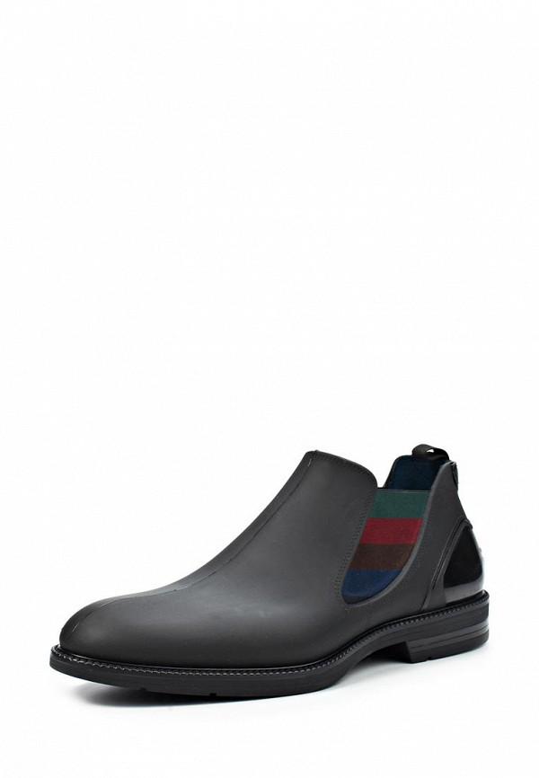 Ботинки iShu+ IS347AMKM797. Цвет: черный