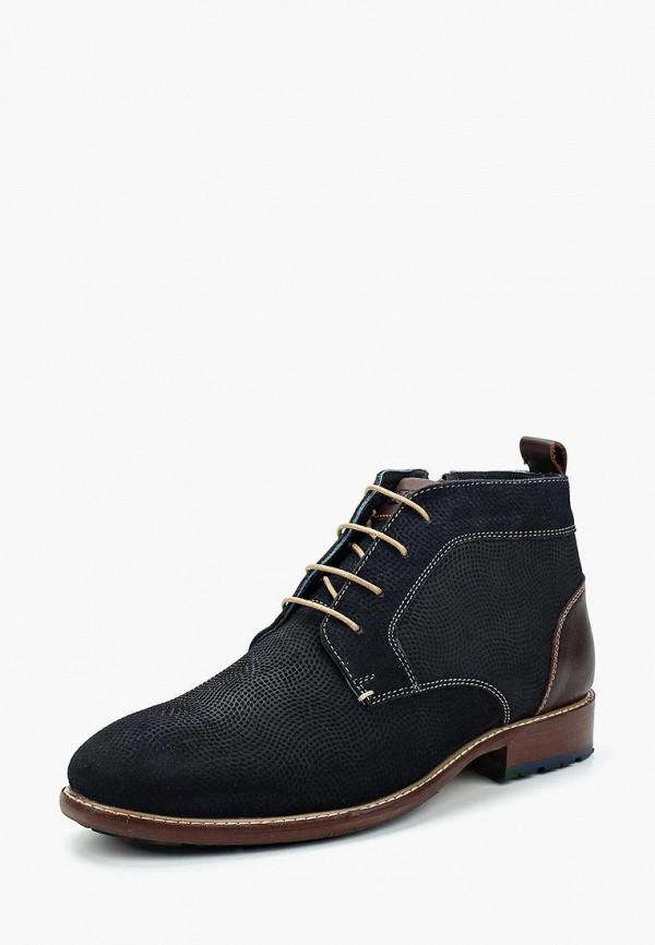 Фото - мужские ботинки и полуботинки ITI синего цвета