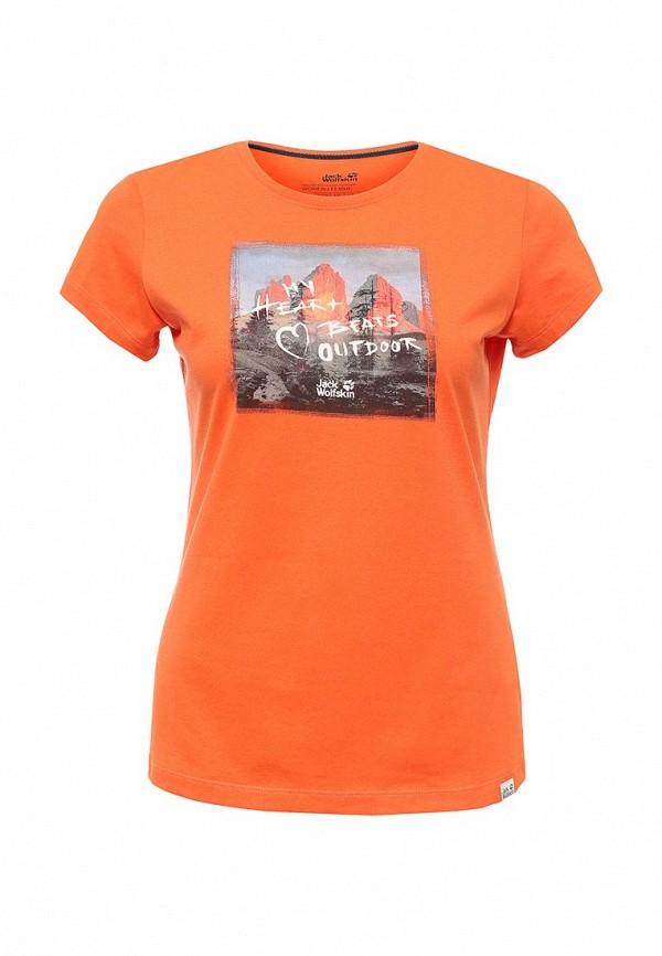 Спортивная футболка Jack Wolfskin 1804381-3122