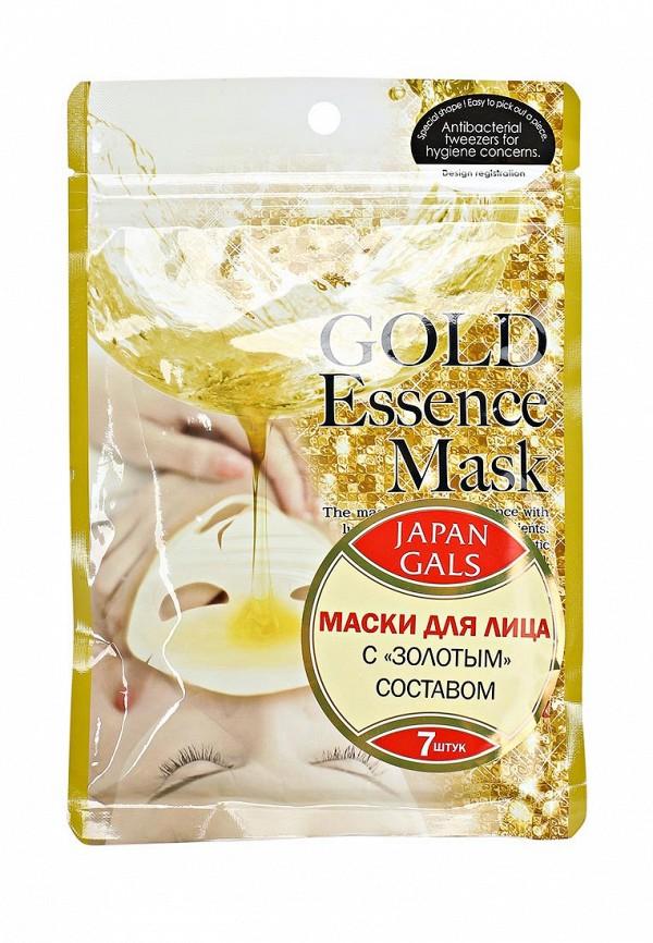 Набор масок 7 шт. Japan Gals Маска с «золотым» составом Essence Mask 7 шт
