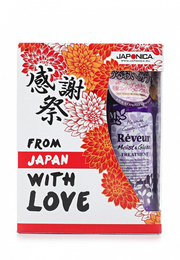 Набор для ухода за волосами Japan Gateway Japan Gateway JA023LWAUOO5 кондиционер для волос japan gateway voloute увлажнение