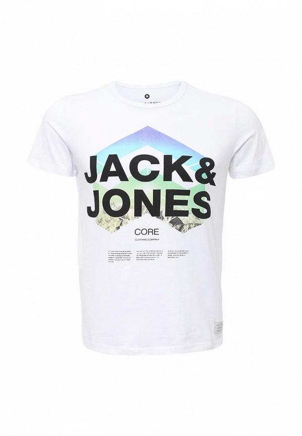 Футболка с надписями Jack & Jones 12102117