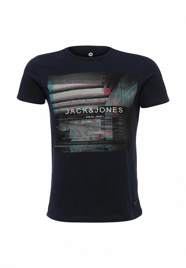Футболка с надписями Jack & Jones 12102345