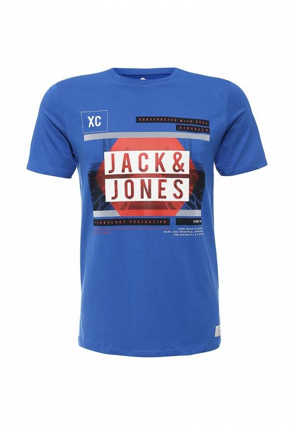 Футболка с надписями Jack & Jones 12112458
