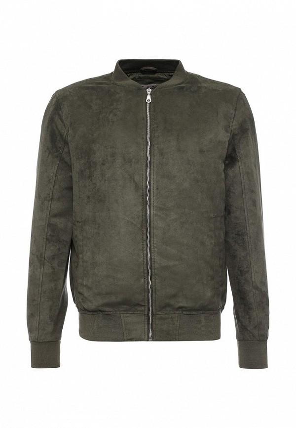 Фото Куртка кожаная Jack & Jones. Купить с доставкой