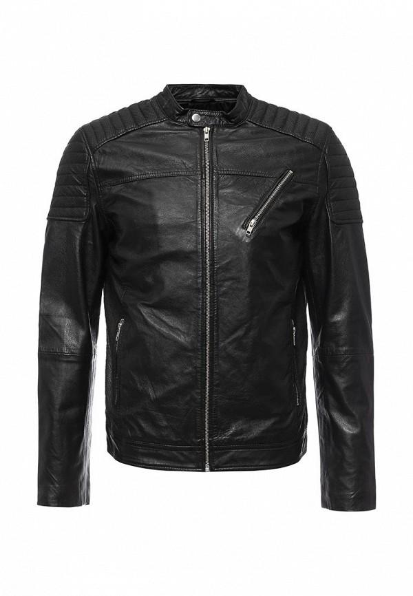 Куртка кожаная Jack & Jones