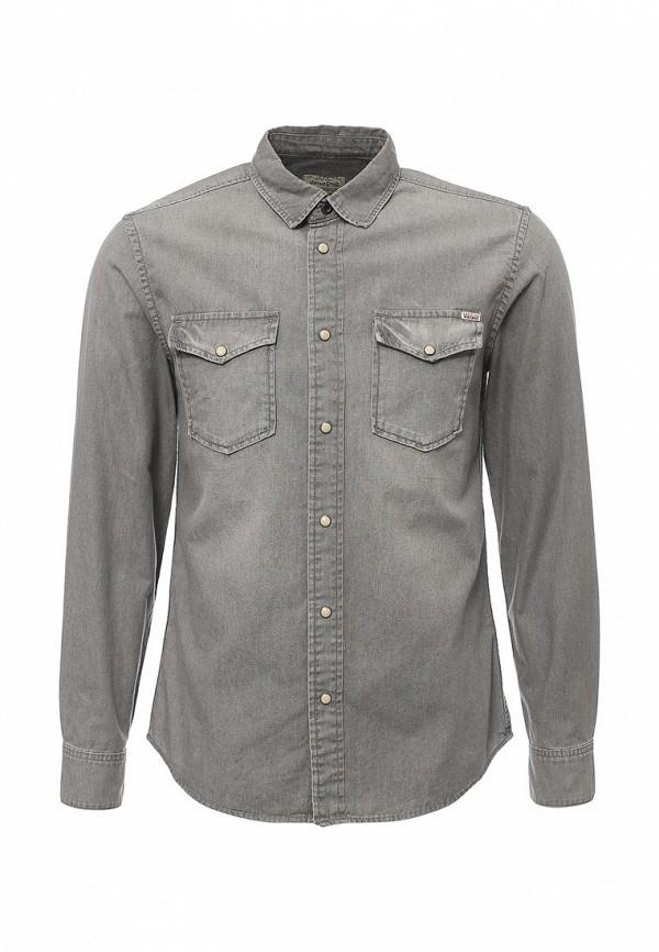 Рубашка джинсовая Jack & Jones Jack & Jones JA391EMPAN12 рубашка джинсовая jack