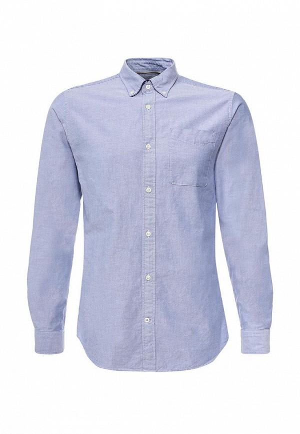 Фото - Рубашку Jack & Jones синего цвета