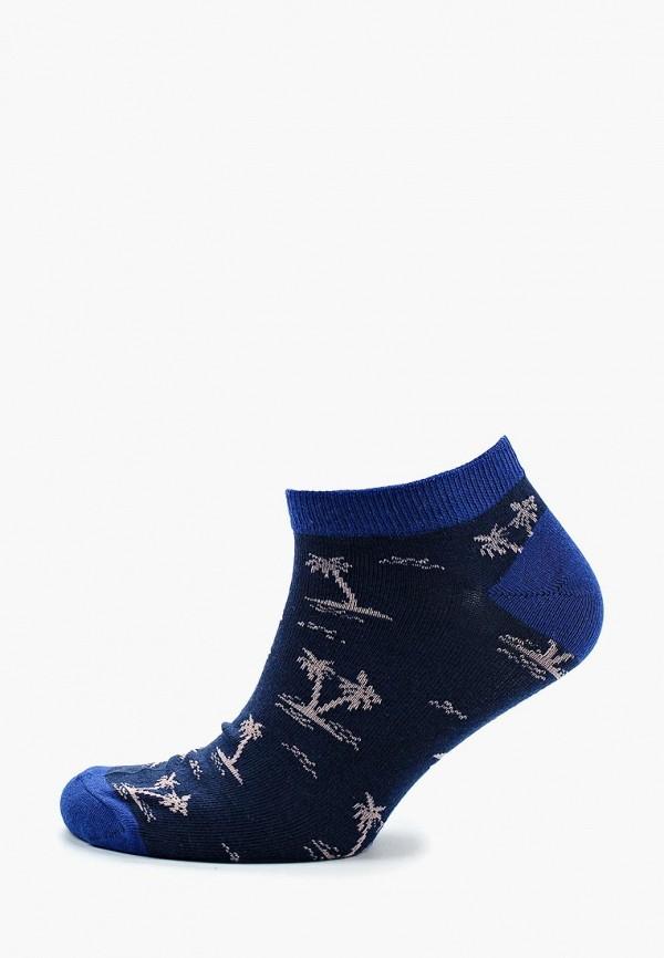 Носки  синий цвета