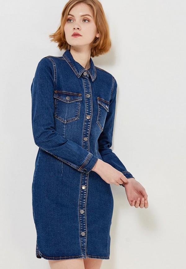 Платье джинсовое Jacqueline de Yong Jacqueline de Yong JA908EWZNZ04 джинсы jacqueline de yong jacqueline de yong ja908ewujb87