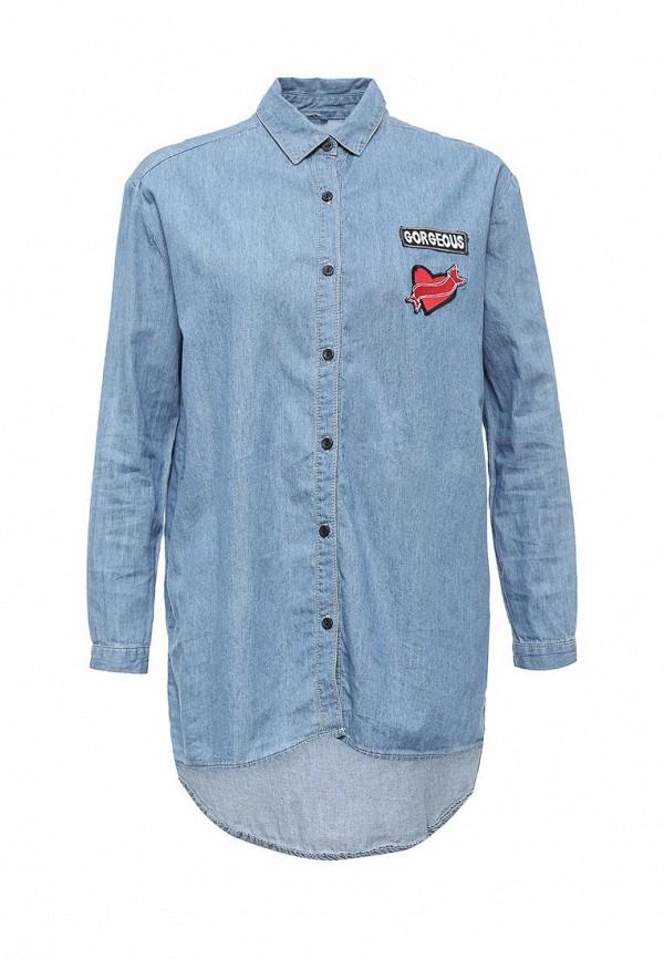 Рубашка джинсовая Jennyfer DEH16RFUNKE